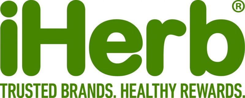 iherb logo 800x322 - Кэшбэк в iHerb - где самый высокий %?
