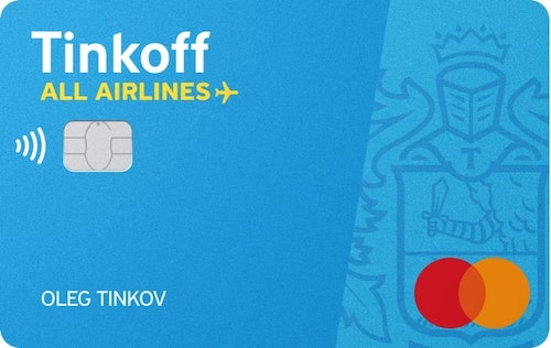 tinkoff all airlines - кэшбэк на билеты