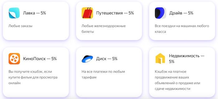 """Здесь - все условия по карте """"Яндекс.Плюс"""". Какой кэшбэк, % на остаток, кому выгодно и т.д."""